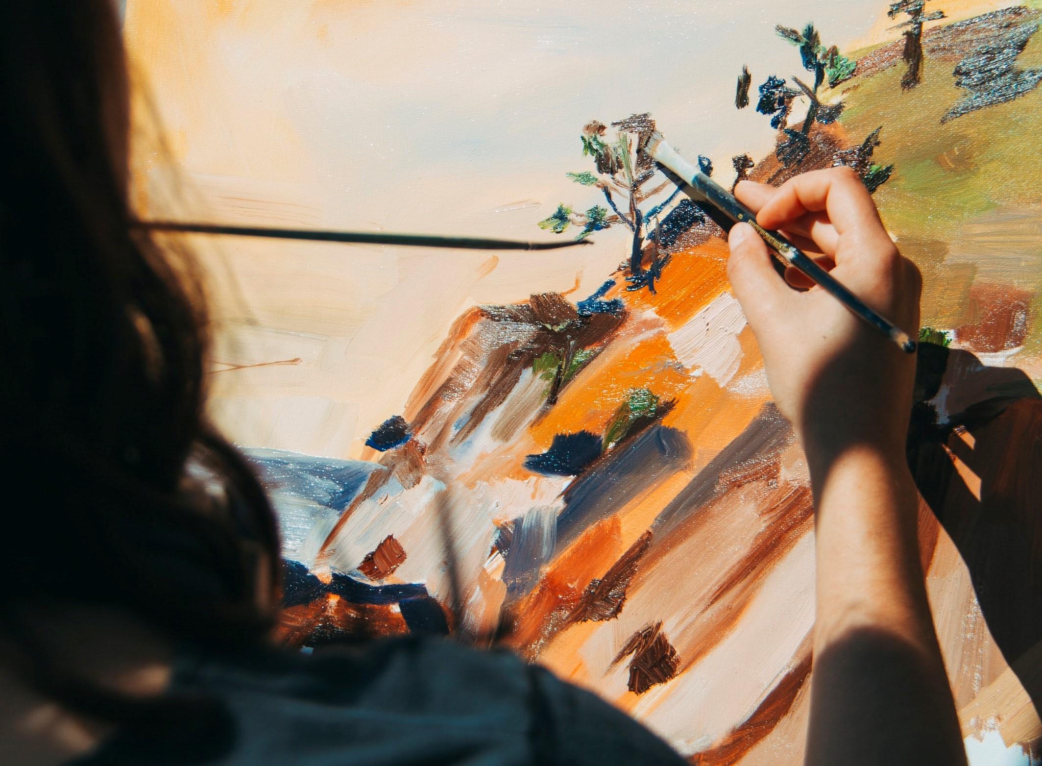 Επαγγελματίες vs Ερασιτέχνες στη Ζωγραφική